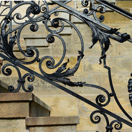 Detailansicht Treppengeländer