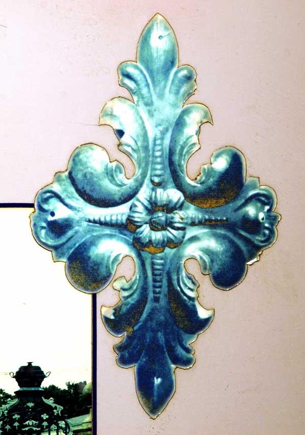 Rossettel aus Toranlage Orangerie Gotha