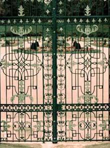 Detail aus Toranlage Orangerie Gotha